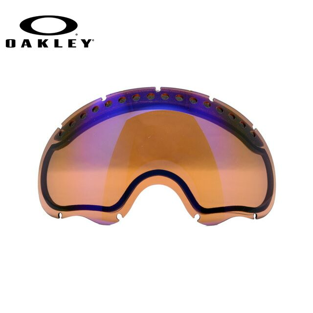 OAKELY A FRAME オークリー ゴーグル スノーゴーグル 交換用レンズ スペアレンズ エーフレーム 02-233 ミラーレンズ メンズ レディース スキーゴーグル スノーボードゴーグル ギフト
