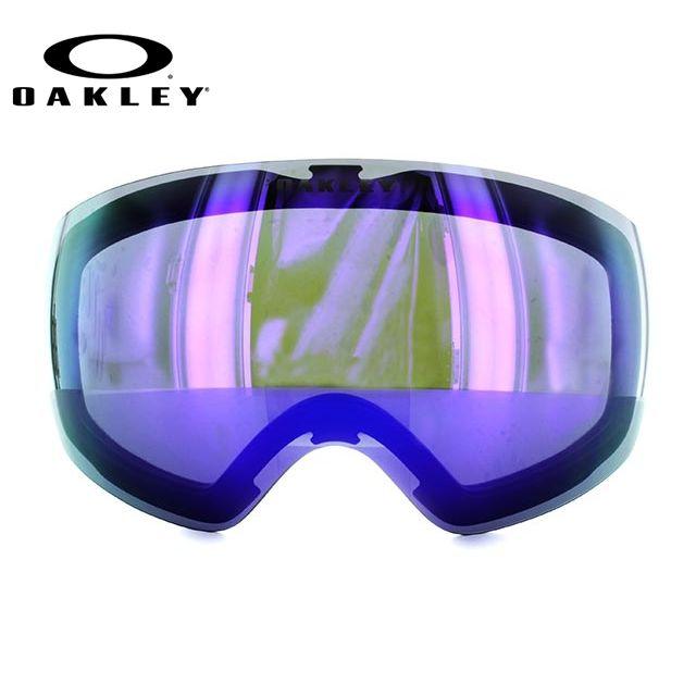 OAKELY FLIGHT DECK XM オークリー ゴーグル スノーゴーグル 交換用レンズ スペアレンズ フライトデッキXM 101-104-005 ミラーレンズ 眼鏡対応 メット対応 メンズ レディース スキーゴーグル スノーボードゴーグル