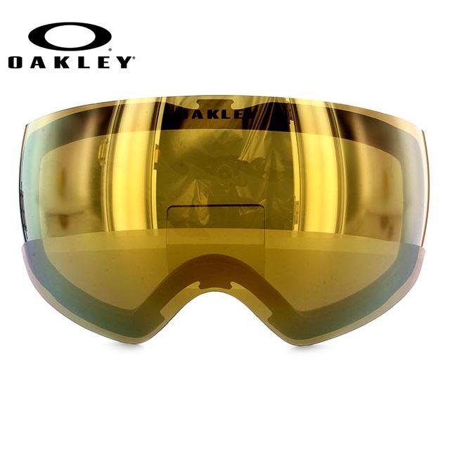 OAKELY FLIGHT DECK XM オークリー ゴーグル スノーゴーグル 交換用レンズ スペアレンズ フライトデッキXM 101-104-008 ミラーレンズ 眼鏡対応 メット対応 メンズ レディース スキーゴーグル スノーボードゴーグル ギフト