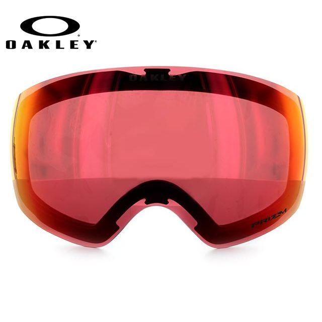 OAKELY FLIGHT DECK XM オークリー ゴーグル スノーゴーグル 交換用レンズ スペアレンズ フライトデッキXM 101-104-013 プリズムレンズ ミラーレンズ 眼鏡対応 メット対応 メンズ レディース スキーゴーグル スノーボードゴーグル
