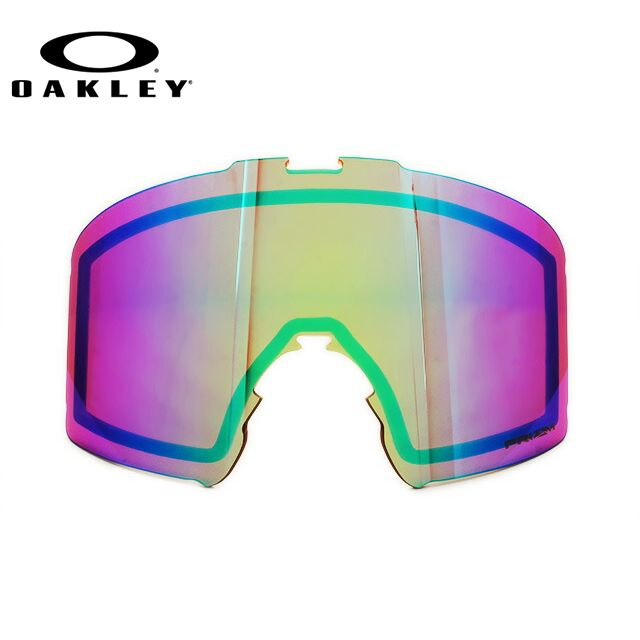 オークリー ゴーグル交換レンズ ラインマイナー プリズム ミラーレンズ OAKLEY LINE MINER 101-643-008 リプレイスメント UVカット ウィンタースポーツ スキーゴーグル スノーボードゴーグル スノボ ギフト