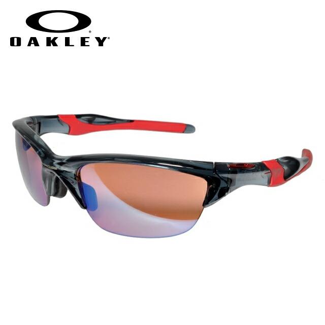 オークリー サングラス OAKLEY HALF JACKET2.0 ハーフジャケット2.0 OO9153-11 Crystal Black / G30 Iridium アジアンフィット ユニセックス【ハーフジャケット2.0】