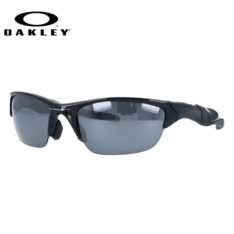 オークリー サングラス OAKLEY HALF JACKET2.0 ハーフジャケット2.0 OO9153-04 Polished Black / Black Iridium Polarized (偏光) アジアンフィット ユニセックス【ハーフジャケット2.0】