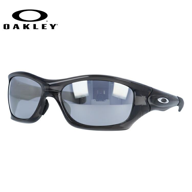 オークリー サングラス OAKLEY PIT BULL ピットブル OO9161-12 Grey Smoke / Slate Iridium アジアンフィット ユニセックス【ピットブル】