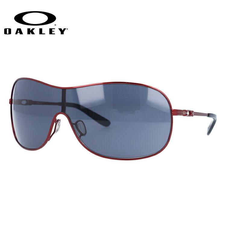 オークリー サングラス OAKLEY COLLECTED コレクティッド OO4078-04 Cayenne Red / Grey レディース【コレクティッド】