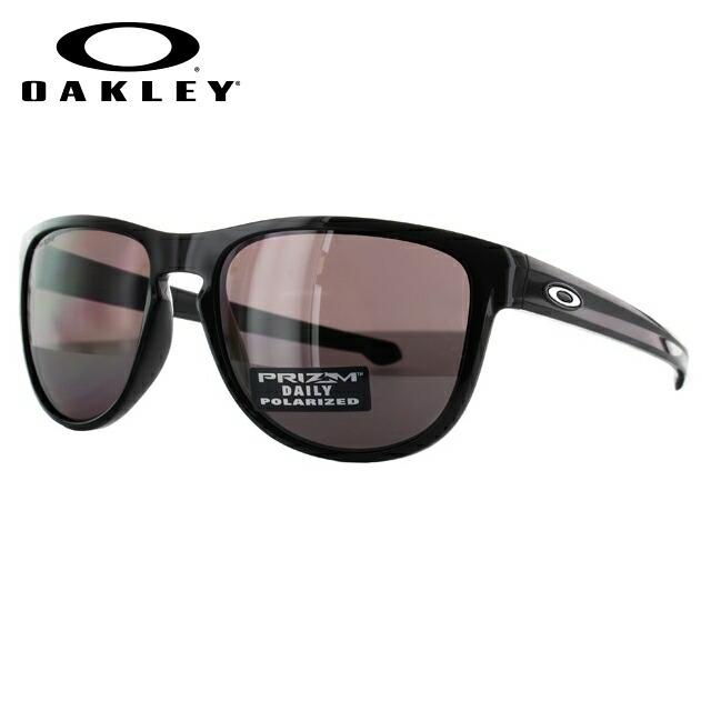 【訳あり】オークリー サングラス OAKLEY SLIVER ROUND スリバーラウンド OO9342-07 57 ポリッシュドブラック プリズムレンズ (偏光) メンズ レディース スポーツ