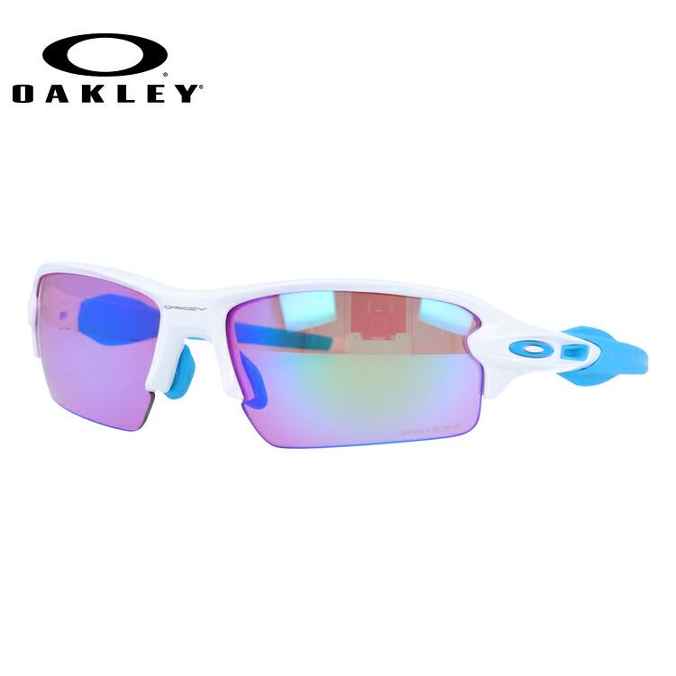 オークリー サングラス OAKLEY FLAK2.0 フラック2.0 OO9271-1761 61 ポリッシュドホワイト アジアンフィット プリズムレンズ メンズ レディース スポーツ アイウェア