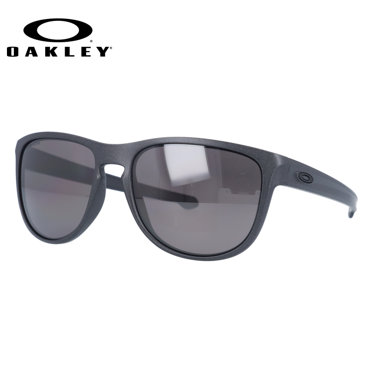オークリー サングラス OAKLEY SLIVER ROUND スリバーラウンド OO9342-08 57 スチール(マット) レギュラーフィット プリズムレンズ 偏光レンズ STEEL COLLECTION メンズ レディース スポーツ アイウェア