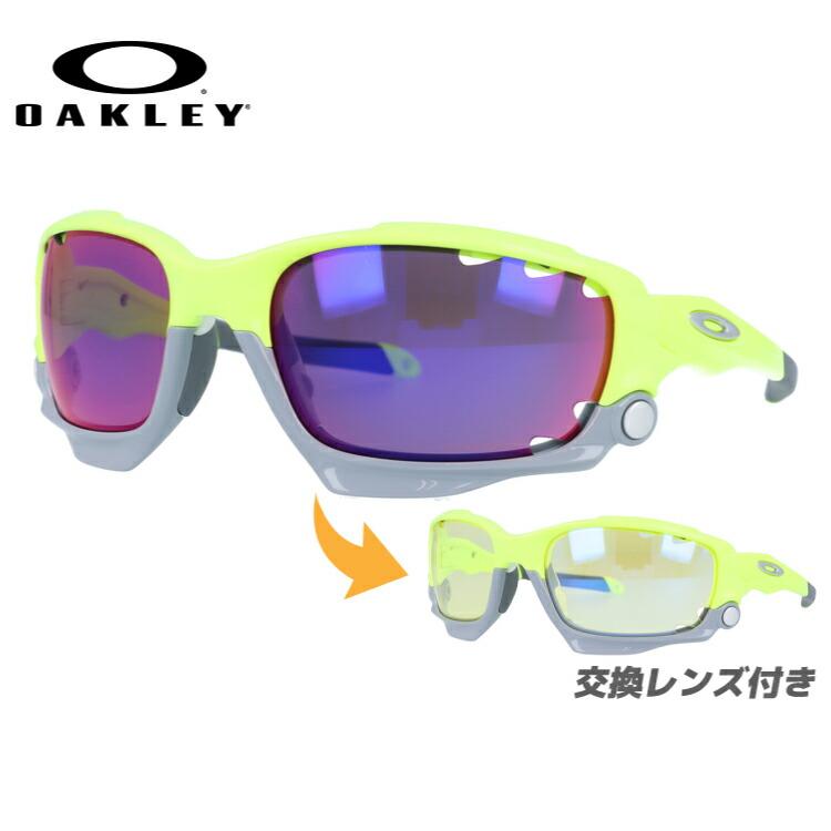 オークリー サングラス レーシングジャケット プリズム レギュラーフィット OAKLEY RACING JACKET OO9171-3962 62サイズ スポーツ スポーツ メンズ レディース
