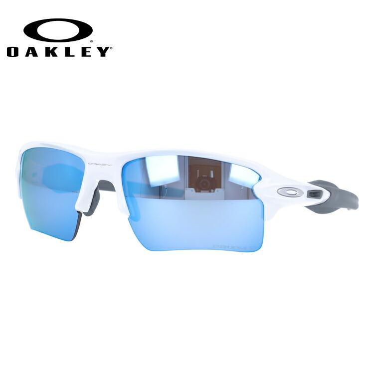 オークリー サングラス 2018年新作 国内正規品 フラック 2.0 XL 偏光サングラス プリズム ミラーレンズ レギュラーフィット OAKLEY FLAK 2.0 XL OO9188-8259 59サイズ スポーツ スポーツ メンズ レディース
