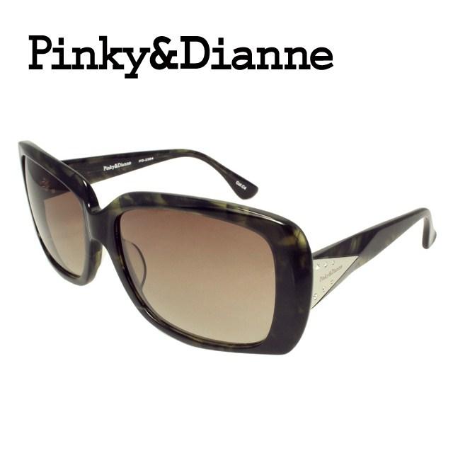 ピンキー&ダイアン サングラス PINKY&DIANNE PD2304-4 レディース 女性 ブランドサングラス メガネ UVカット カジュアル ファッション 人気 ギフト