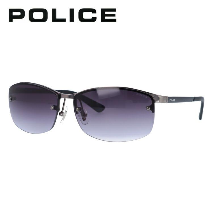 ポリス サングラス POLICE SPL917J 568N 61サイズ 国内正規品 スクエア ユニセックス メンズ レディース