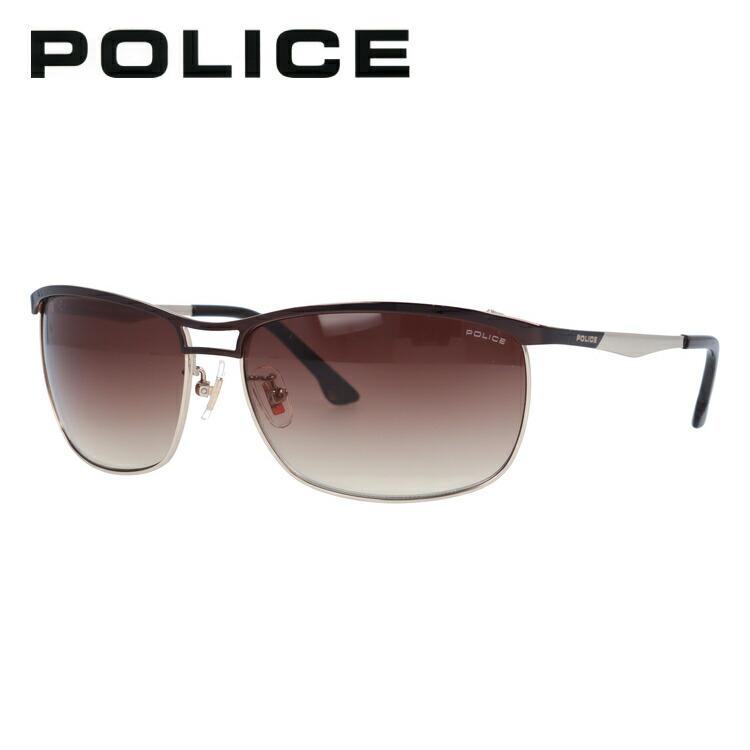ポリス サングラス POLICE SPL918J 0K05 62サイズ 国内正規品 スクエア ユニセックス メンズ レディース