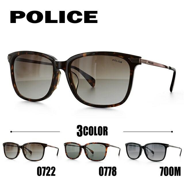 ポリス サングラス POLICE SPL027J 0722/0778/700M 55 アジアンフィット メンズ レディース UVカット メガネ ブランド POLICE ポリスサングラス