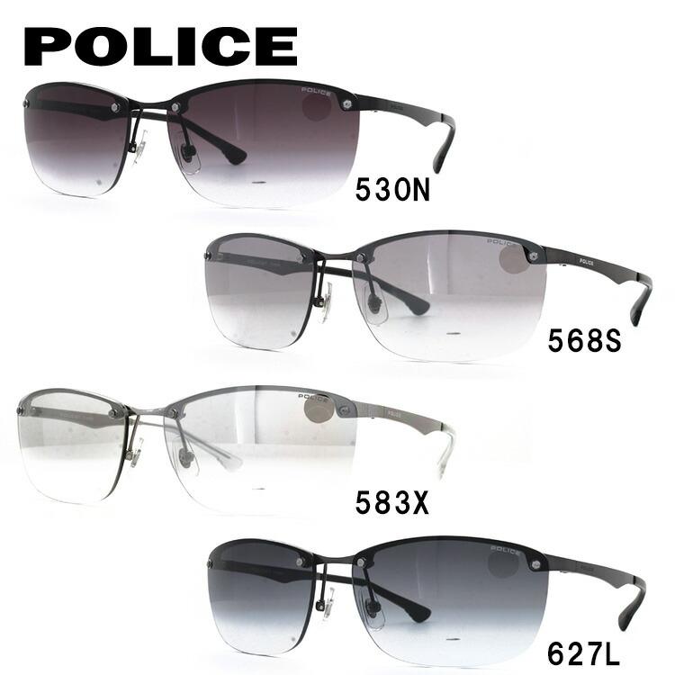 ポリス サングラス 2018年新作 ストーム アジアンフィット POLICE STORM SPL745J 全4カラー 60サイズ 国内正規品 スクエア ユニセックス メンズ レディース