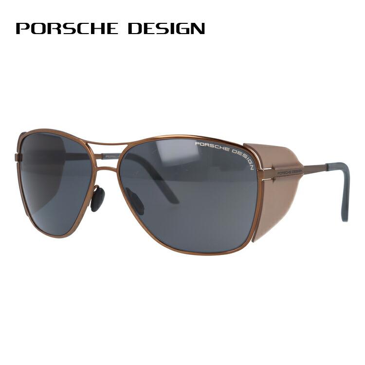 ポルシェデザイン サングラス PORSCHE DESIGN P8600-D 62サイズ 国内正規品 ウェリントン ユニセックス メンズ レディース
