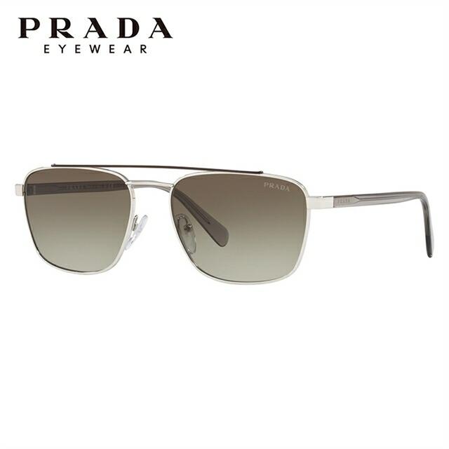 プラダ サングラス 2018年新作 レギュラーフィット PRADA PR 61US Y7B5O2 59サイズ 国内正規品 スクエア ユニセックス メンズ レディース