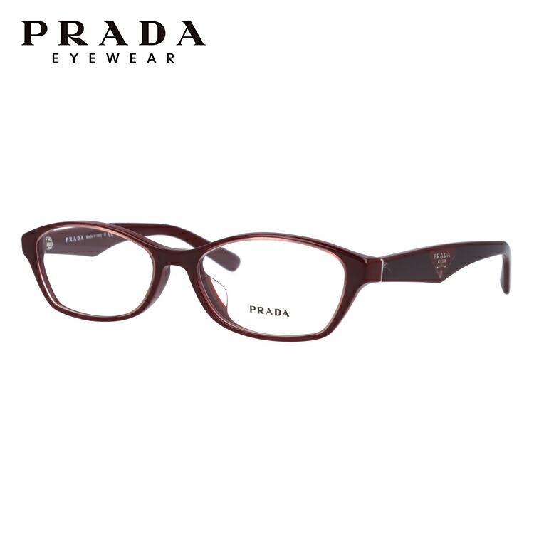 メガネ 伊達レンズ 老眼鏡 度付き UVカット 紫外線対策 伊達メガネ 度なし めがね 眼鏡 PCメガネ 新品 PRADA 人気メガネフレーム 国内正規品 プラダ メガネフレーム 伊達メガネ アジアンフィット PRADA PR02SV UAN1O1 54サイズ 国内正規品 オーバル ユニセックス メンズ レディース ギフト