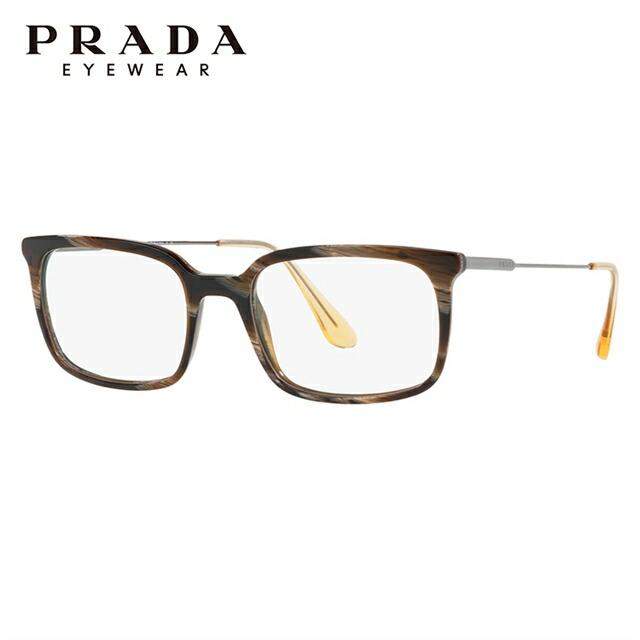 メガネ 伊達レンズ 老眼鏡 度付き UVカット 紫外線対策 伊達メガネ 度なし めがね 眼鏡 PCメガネ 新品 PRADA 人気メガネフレーム 国内正規品 プラダ メガネフレーム 伊達メガネ アジアンフィット PRADA PR16UVF C9O1O1 55サイズ 国内正規品 スクエア ユニセックス メンズ レディース ギフト