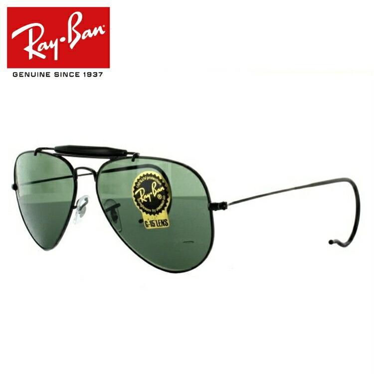 レイバン サングラス RayBan RB3030 L9500 58サイズ OUTDOORSMAN アウトドアーズマン Ray-Ban メンズ レディース ブランドサングラス メガネ ギフト【海外正規品】