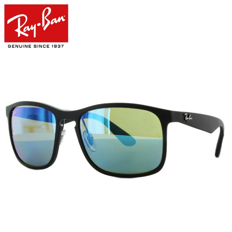 レイバン Ray-Ban サングラス クロマンス RB4264 601SA1 58 マットブラック 調整可能ノーズパッド Chromance 偏光レンズ ミラーレンズ メンズ レディース アイウェア
