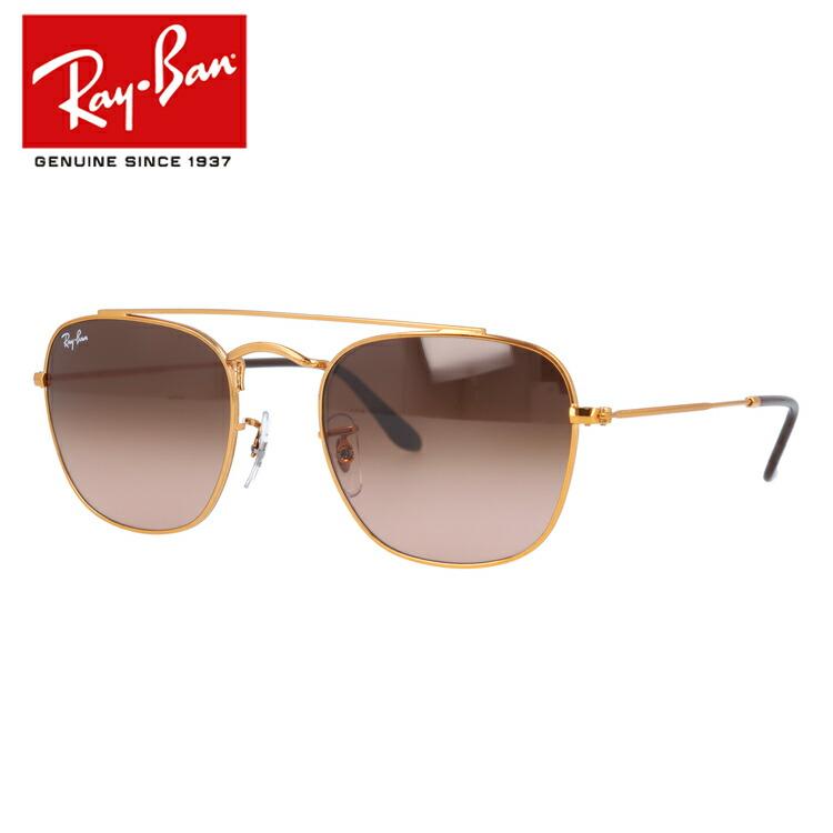 レイバン Ray-Ban サングラス RB3557 9001A5 51 ブロンズコパー 調整可能ノーズパッド メンズ レディース アイウェア