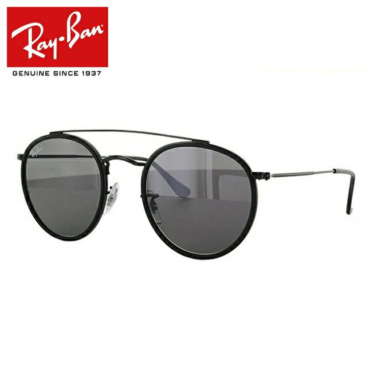 レイバン サングラス ラウンド ダブル ブリッジ Ray-Ban ROUND DOUBLE BRIDGE RB3647N 002/R5 51サイズ 国内正規品 ラウンド(ダブルブリッジ) ユニセックス メンズ レディース