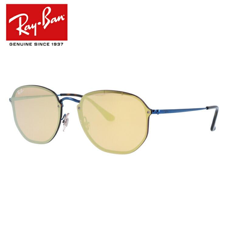 レイバン サングラス ブレイズ ヘキサゴナル ミラーレンズ Ray-Ban BLAZE HEXAGONAL RB3579N 90387J 58サイズ 国内正規品 ヘキサゴン ユニセックス メンズ レディース