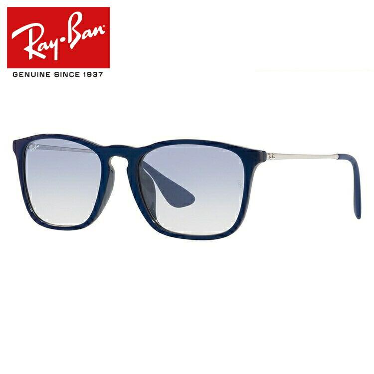 レイバン サングラス クリス ミラーレンズ アジアンフィット Ray-Ban CHRIS RB4187F 631719 54サイズ 国内正規品 ウェリントン ユニセックス メンズ レディース