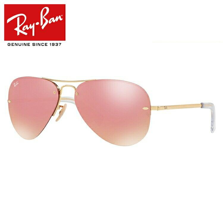 レイバン サングラス ミラーレンズ Ray-Ban RB3449 001/E4 59サイズ 国内正規品 ティアドロップ ユニセックス メンズ レディース