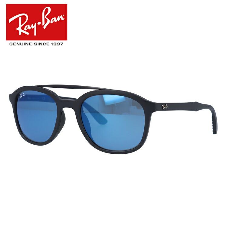 レイバン サングラス ミラーレンズ アジアンフィット Ray-Ban RB4290F 601S55 53サイズ 国内正規品 ウェリントン ユニセックス メンズ レディース