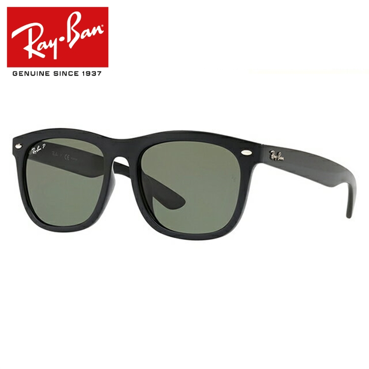 レイバン サングラス 2018年新作 偏光サングラス フルフィット(アジアンフィット) Ray-Ban RB4260D 601/9A 57サイズ 国内正規品 ウェリントン ユニセックス メンズ レディース