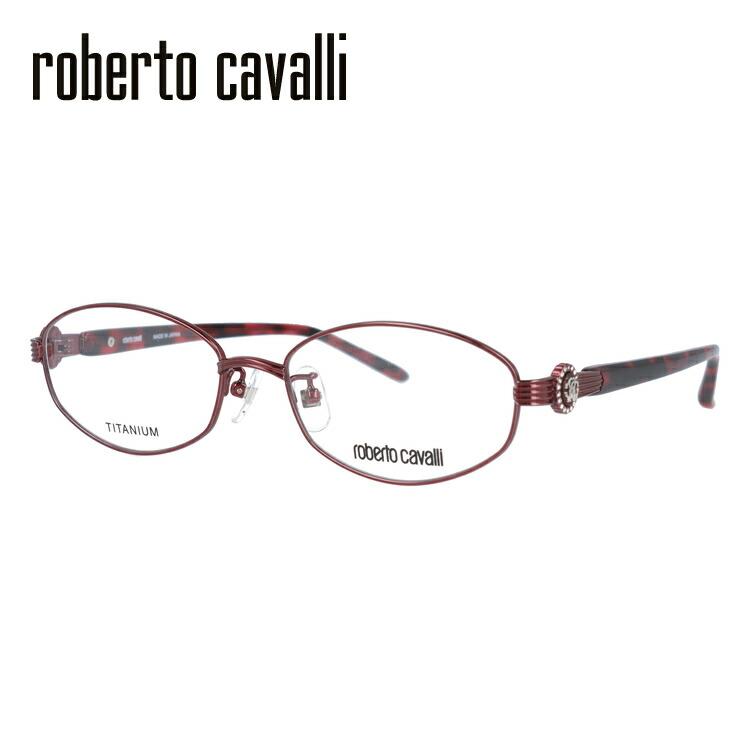 【マラソン期間ポイント20倍】ロベルトカヴァリ メガネフレーム おしゃれ老眼鏡 PC眼鏡 スマホめがね 伊達メガネ リーディンググラス 眼精疲労 フレーム Roberto Cavalli ロベルト・カバリ 伊達 眼鏡 RC0605-2 52 レディース ファッションメガネ
