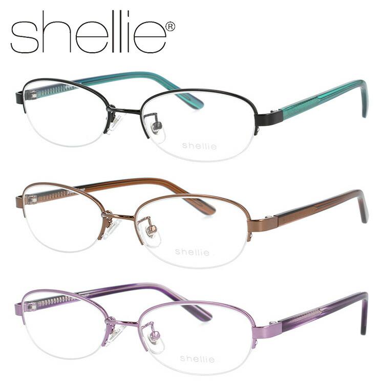 シェリー メガネフレーム 伊達メガネ shellie SH6327 全3カラー 50サイズ オーバル ユニセックス メンズ レディース