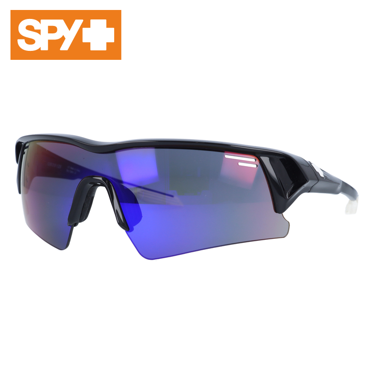 スパイ サングラス SPY SCREW OVER スクリューオーバー Shiny Black/Grey With Purple Spectra メンズ レディース UVカット メガネ ブランド【国内正規品】