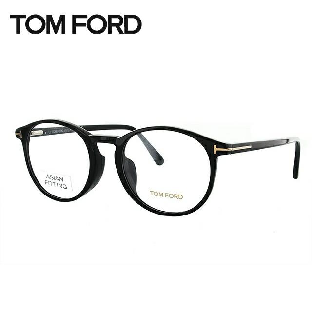 トムフォード メガネ フレーム TOM FORD トム・フォード 伊達 眼鏡 アジアンフィット TF5294F 001 52 (FT5294F) ボストン ユニセックス メンズ レディース ブランドメガネ ダテメガネ ファッションメガネ 伊達レンズ無料(度なし・UVカット) バネ丁番
