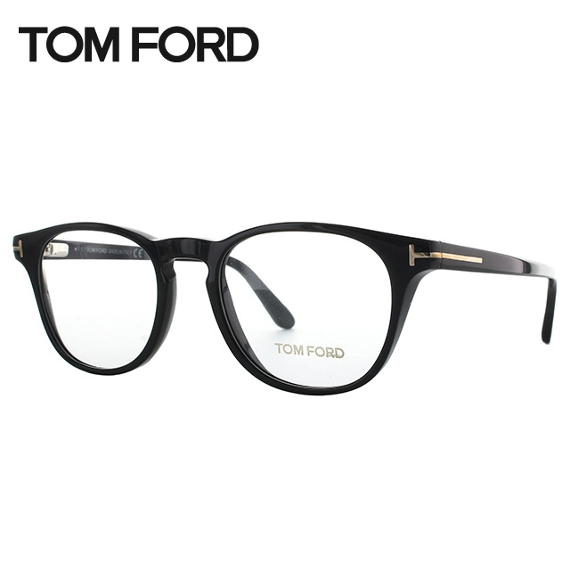 トムフォード メガネ フレーム TOM FORD トム・フォード 伊達 眼鏡 レギュラーフィット TF5410 001 49 (FT5410) ボストン ユニセックス メンズ レディース ブランドメガネ ダテメガネ ファッションメガネ 伊達レンズ無料(度なし・UVカット) バネ丁番