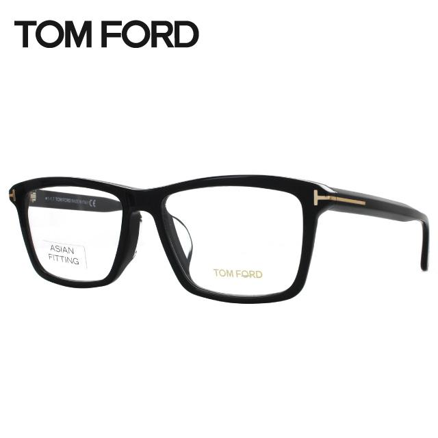 トムフォード メガネ フレーム TOM FORD トム・フォード 伊達 眼鏡 アジアンフィット TF5407F(FT5407F) 001 57 スクエア ユニセックス メンズ レディース ブランドメガネ ダテメガネ ファッションメガネ 伊達レンズ無料(度なし・UVカット)