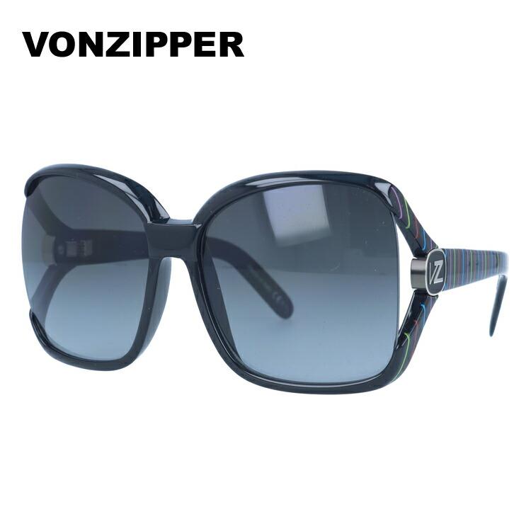 ボンジッパー サングラス VONZIPPER DHARMA ダーマ YPB ブラック/カラフルストライプ/スモークグラデーション メンズ レディース UVカット メガネ ブランド