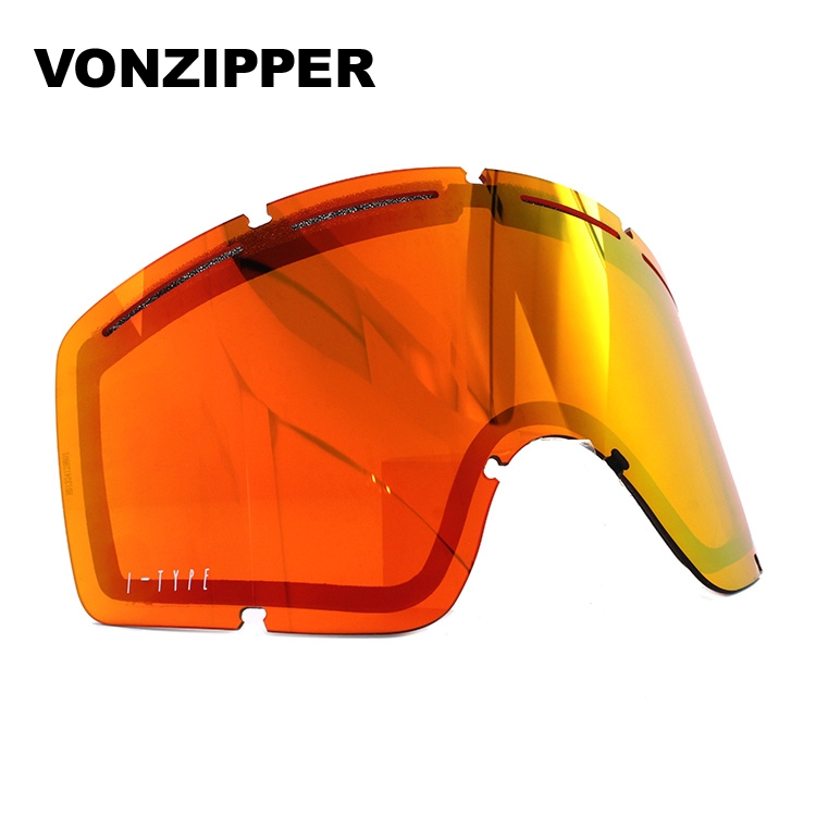 ボンジッパー ゴーグル交換レンズ ミラーレンズ VONZIPPER CLEAVER I-TYPE LENS GMSLGCLX FCL ユニセックス メンズ レディース スキーゴーグル スノーボードゴーグル スノボ ギフト