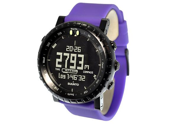 【国内正規品】スント 腕時計 SUUNTO ウォッチ CORE VIOLET CRUSH SS019167000(バイオレットクラッシュ) コア 高度計 気圧計 コンパス アウトドア