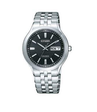 シチズン CITIZEN EXCEED エクシード 腕時計 メンズ AT6000-52E エコ・ドライブ 電波時計 チタン