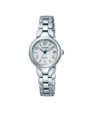 シチズン CITIZEN EXCEED エクシード 腕時計 レディース ES8040-54A エコ・ドライブ 電波時計 チタン