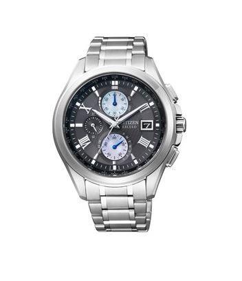 シチズン CITIZEN EXCEED エクシード 腕時計 メンズ AT8075-52E エコ・ドライブ 電波時計 チタン