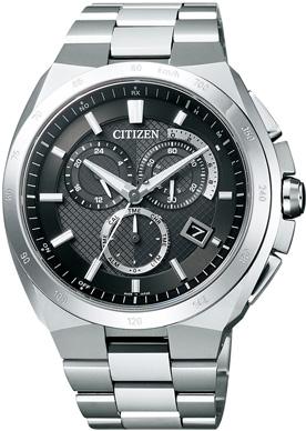 【シチズン】 CITIZEN ソーラー 電波 腕時計 メンズ AT3010-55E クロノグラフ ATTESA アテッサ