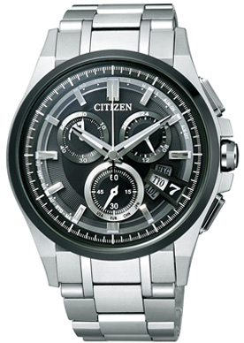 【シチズン】 CITIZEN ソーラー 電波 腕時計 メンズ BY0094-52E ダイレクトフライト ATTESA アテッサ