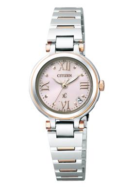 【シチズン】 CITIZEN ソーラー 電波 腕時計 レディース ES6005-64W TITANIAライン ハッピーフライトクロスシー xC 北川景子 CM着用モデル