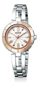 【シチズン】 CITIZEN wicca ウィッカ 腕時計 レディース KL4-338-11 ソーラーテック