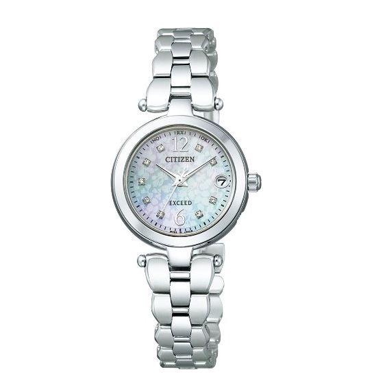 シチズン CITIZEN EXCEED エクシード 腕時計 レディース EBD75-5114 エコ・ドライブ 電波時計 ラスト1個