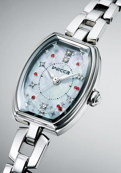 【シチズン】 CITIZEN wicca ウィッカ 腕時計 レディース KF3-010-93 ソーラーテック
